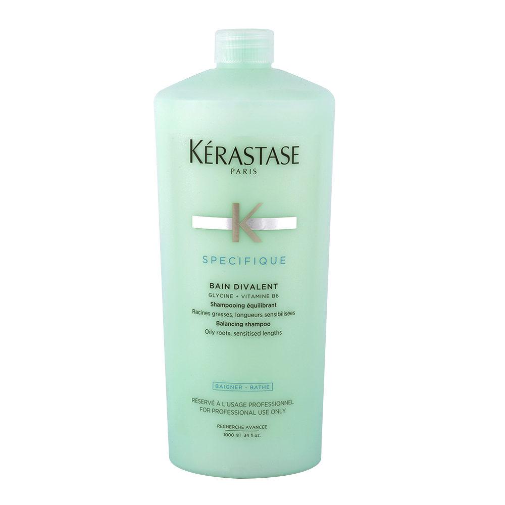 Kerastase Specifique Bain Divalent 1000ml - Haarbad bei fettiger Kopfhaut und trockenem Haar