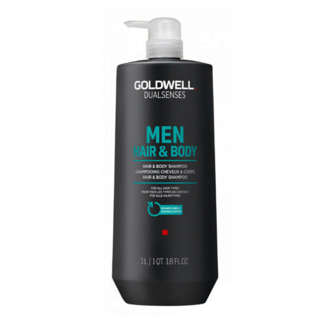 Goldwell Dualsenses Men Hair & body Shampoo 1000ml - Körper- und Haarshampoo