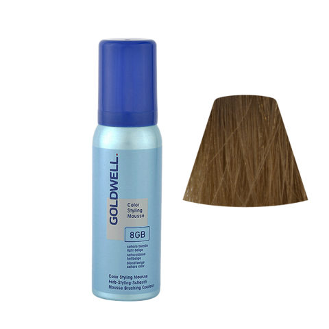 8GB Saharablond hellbeige Goldwell Color Styling Mousse 75ml