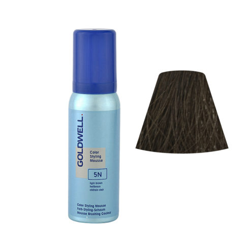 5N Hellbraun Goldwell Color Styling Mousse 75ml