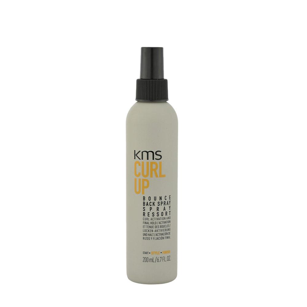 KMS Curl Up Bounce Back Spray 200ml - Locken Activator