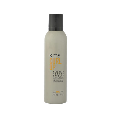 KMS Curl Up Wave Foam 200ml - Lockenschaum