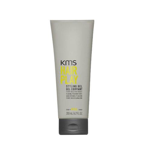 KMS Hair Play Styling Gel 200ml Haar Gel Hinterlässt Keine Rückstände