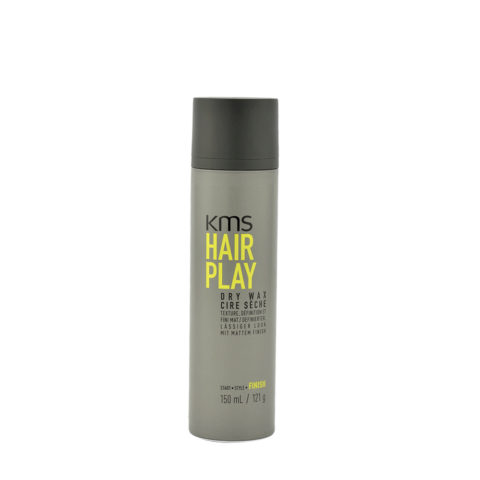 KMS Hair Play Dry wax 150ml - Haarwachs Licht