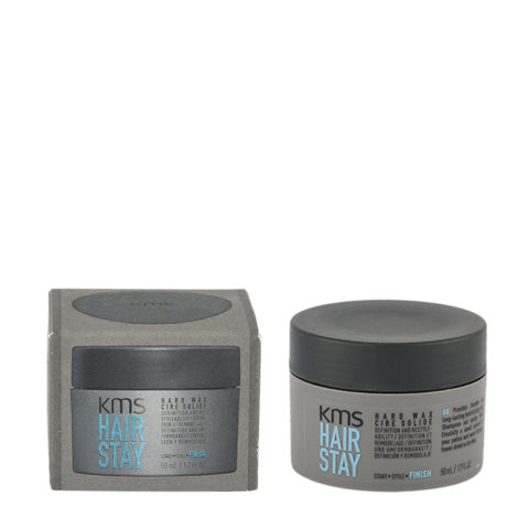 KMS Hair Stay Hard Wax 50ml - Haarwachs Trocken Effekt