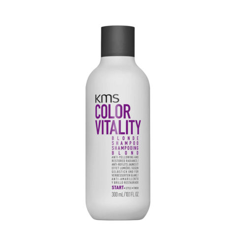 KMS Color Vitality Blonde Shampoo 300ml - Anti Gelbstich Shampoo