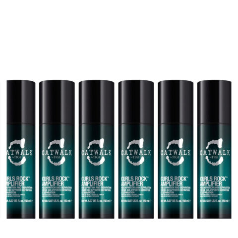 Tigi Catwalk Curlesque Curls Rock Amplifier 150ml kit 6 pcs