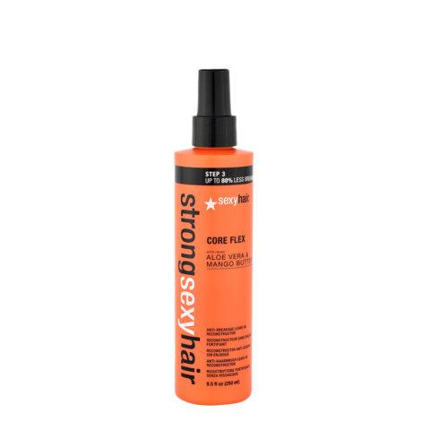 Strong Sexy Hair Core flex 250ml - Umstrukturierungsspray ohne zu spülen