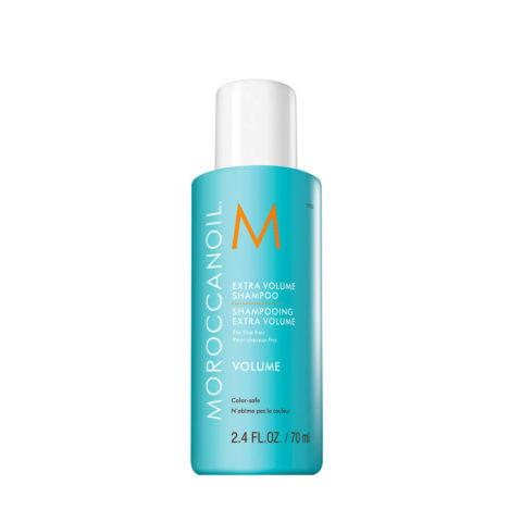 Moroccanoil Extra volume shampoo 70ml - extra volumen shampoo