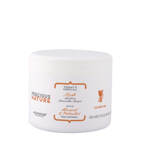 Alfaparf Precious Nature Mask With Almond & Pistachio For Colored Hair 500ml