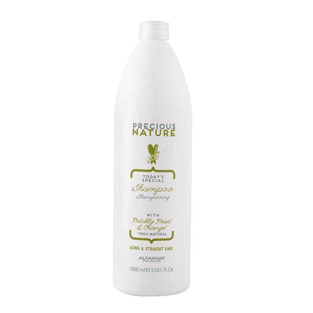 Alfaparf Precious Nature Shampoo With Prickly Pear & Orange FüR Langes/Glattes Haar 1000ml