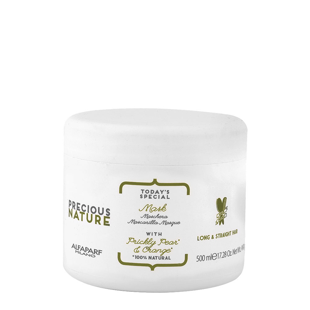 Alfaparf Precious Nature Mask With Prickly Pear & Orange For Long/Straight Hair 500ml