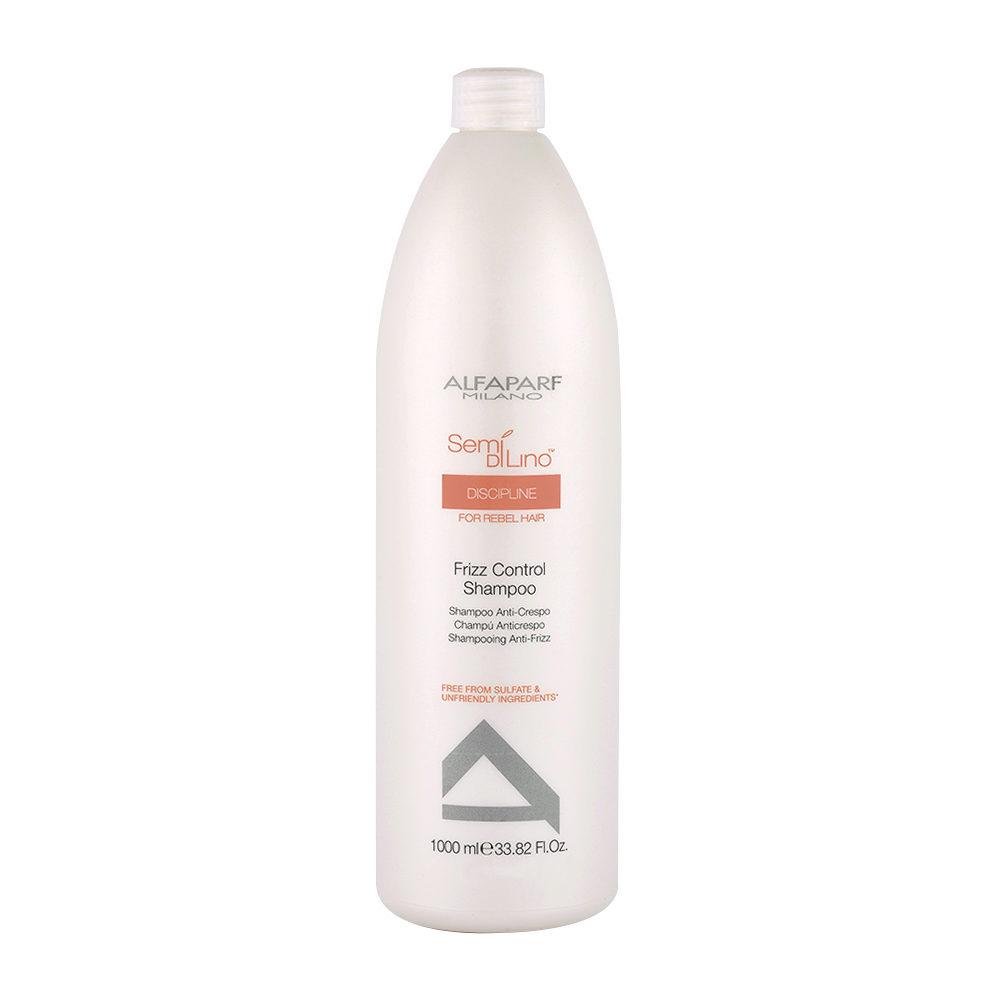Alfaparf Semi Di Lino Discipline Frizz Control Shampoo 1000ml - Anti Frizz Shampoo