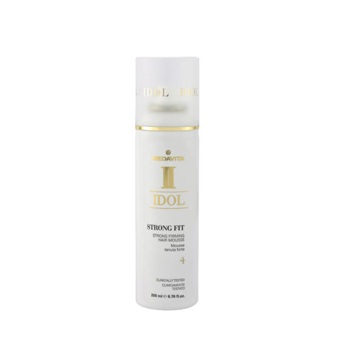 Medavita Idol Texture Strong Fit Strong Firming Hair Mousse 200ml - stark haltendes Mousse