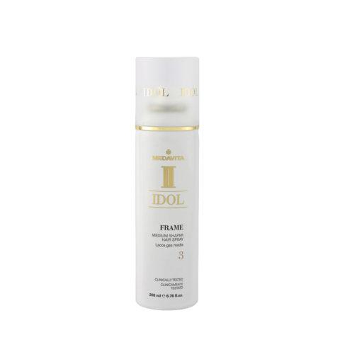 Medavita Idol Texture Frame Medium Shaper Hairspray 200ml - leichter Gaslack