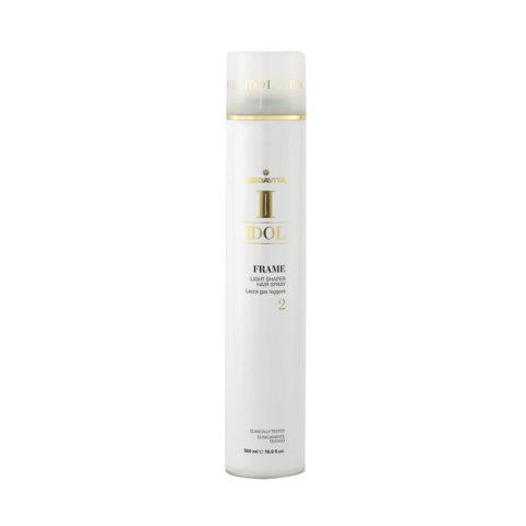 Medavita Idol Texture Frame Light Shaper Hairspray 500ml - leichter Gaslack