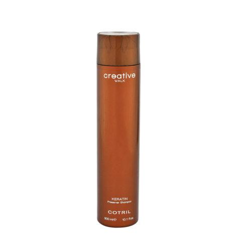 Cotril Creative Walk Keratin Preserver Shampoo 300ml - Behandlung Nach Keratin