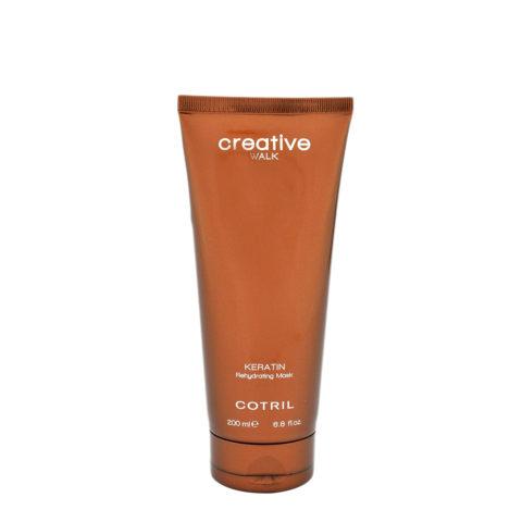 Cotril Creative Walk Keratin Rehydrating Mask 200ml - Feuchtigkeitsmaske