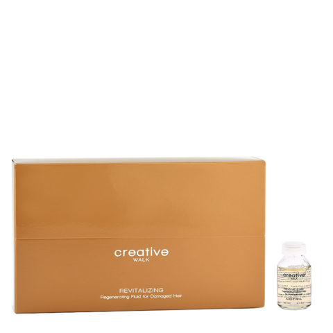 Cotril Creative Walk Revitalizing Regenerating Fluid for Damaged hair 12x20ml - Umstrukturierung für geschädigtes Haar