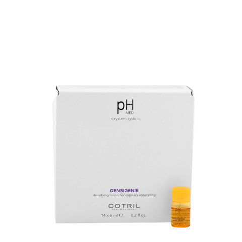 Cotril pH Med Densigenie Densifying Lotion for capillary renovating 14x6ml - verdichtende Ampullen für dünner werdendes