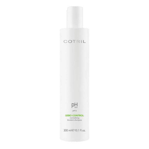 Cotril pH Med Sebo Control Normalizing bivalent Shampoo 300ml - Bivalentes Anti-Fett-Shampoo