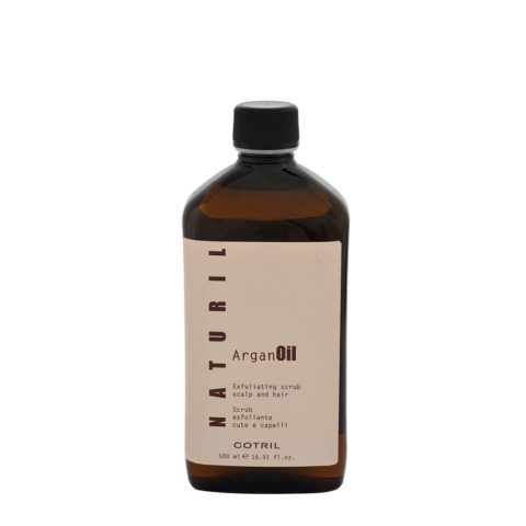 Cotril Naturil Argan Oil Exfoliating Scrub Scalp & hair 500ml - Peeling Haar
