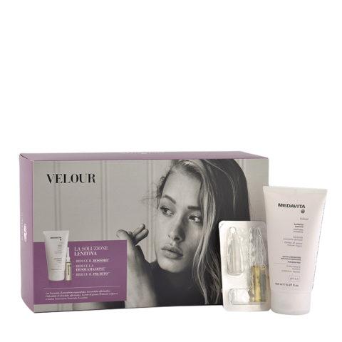 Medavita Cute Velour Linderndes Shampoo 150ml + Vials 12x6ml