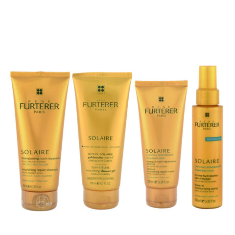 René Furterer Solaire Complete after-sun ritual 4 Produkten Kit