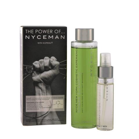 Nyce Nyceman Kit case Power Shampoo 250ml Power lotion 60ml