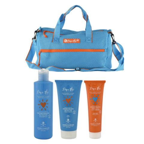 Tecna Sun Amoreterapia Shampoo 250ml Treatment 200ml Cream 150ml Gratis Sun bag
