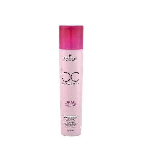 Schwarzkopf BC Bonacure pH 4.5 Color freeze Silver Micellar Shampoo 250ml