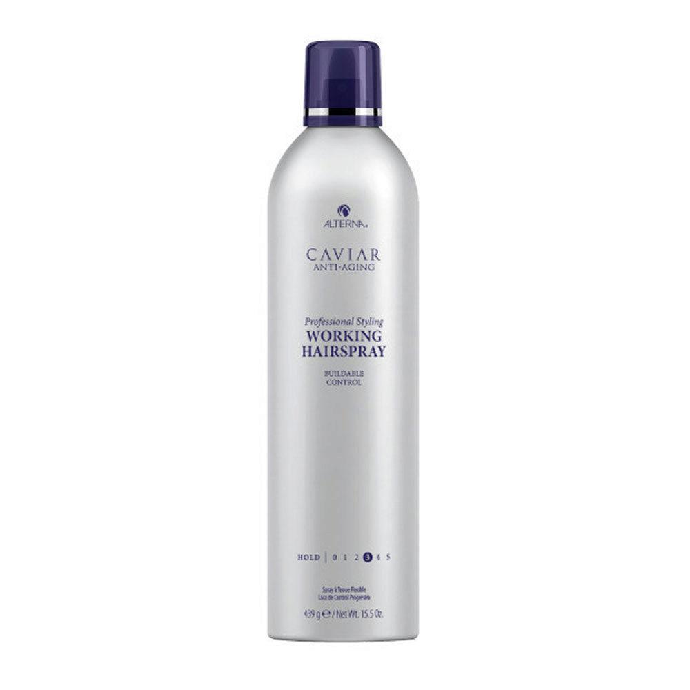 Alterna Caviar Anti aging Styling Working hairspray 439gr - anti Aging Lack