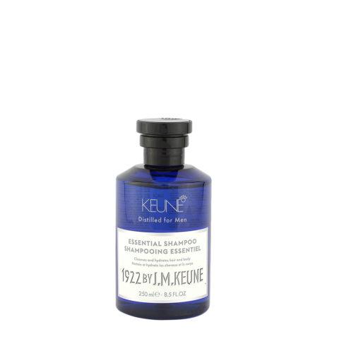 Keune 1922 Essential Shampoo 250ml - Shampoo für Haar und Körper
