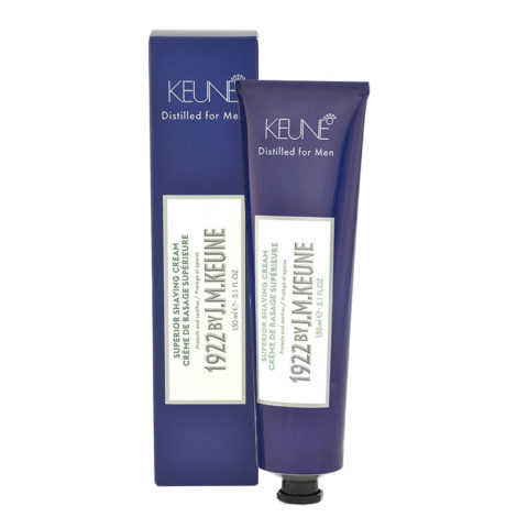 Keune 1922 Grooming Superior Shaving Cream 150ml - Rasiercreme
