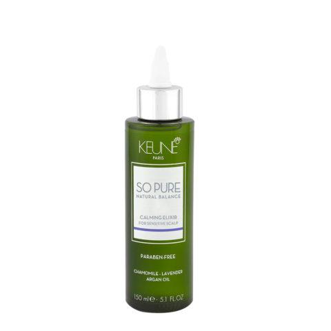 Keune So Pure Calming Elixir 150ml - Beruhigende Lotion für empfindliche Kopfhaut