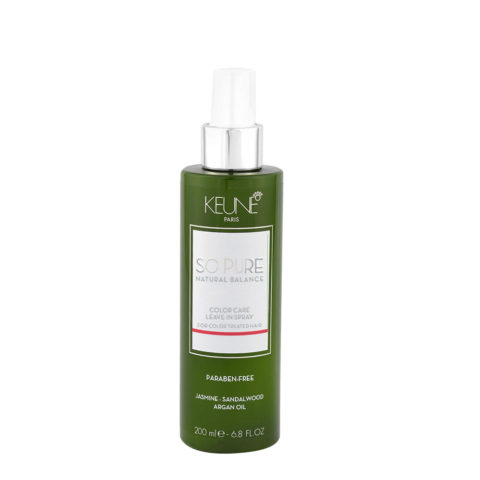 Keune So Pure Color Care Leave In Spray 200ml - Spray ohne Spülung gefärbtes Haar