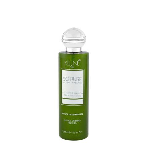 Keune So Pure Exfoliating Shampoo 250ml - anti - schuppen Shampoo