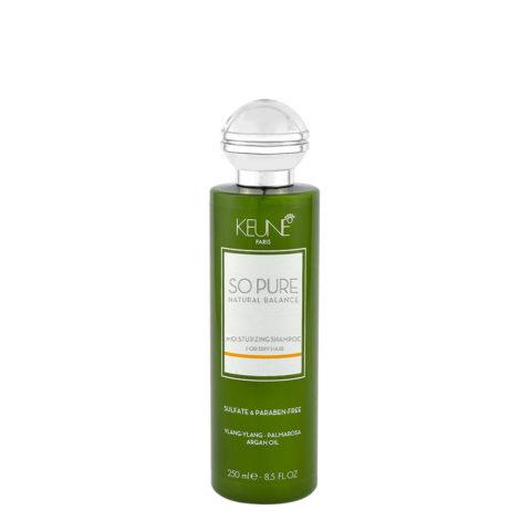 Keune So Pure Moisturizing Shampoo 250ml - Feutigkeitsspendendes Shampoo