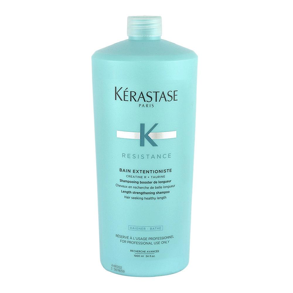 Kerastase Résistance Bain Extentioniste 1000ml - Kräftigendes Shampoo, das ihr Haarwachstum von den Wurzeln an stärkt