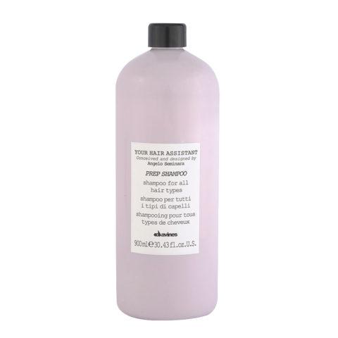 Davines YHA Prep shampoo 900ml - Feuchtigkeitsspendendes Shampoo