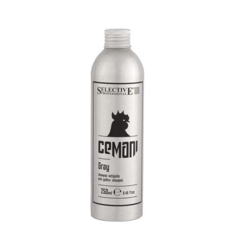 Selective Cemani Gray Shampoo 250ml - Anti-gelbes Shampoo