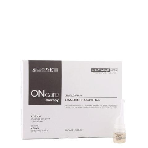 Selective On care Scalp Defense Dandruff control lotion 8x8ml