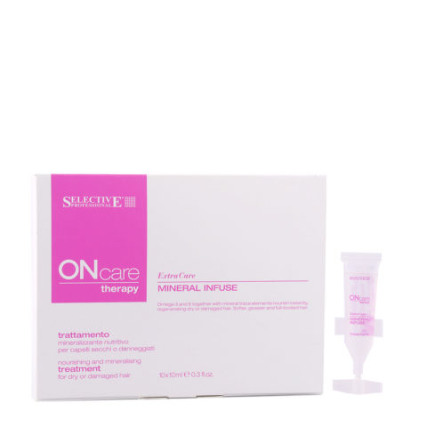 Selective On care Extra Care Mineral Infuse Treatment 10x10ml - Mineralisierend Behandlung
