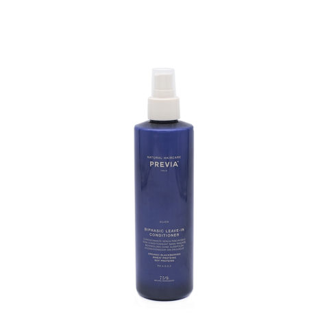 Previa Silver Blonde Biphasic Leave in Conditioner 260ml - anti gelb Conditioner ohne Spülung