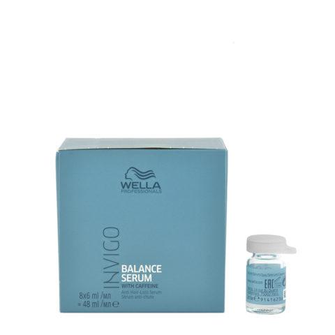 Wella Invigo Balance Anti-hairloss Serum 8x6ml - Anti-fall Serum