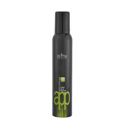 Erilia Creattiva App Styling Curly Oil & Mousse 200ml - Mousse Locken