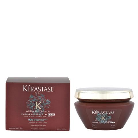 Kerastase Aura botanica Masque fondamental riche 200ml - Maske der intensiven Ernährung für stumpfes, trockenes haar