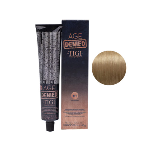 9/31 Sehr helles blond gold kuhl Tigi Age Denied 90ml