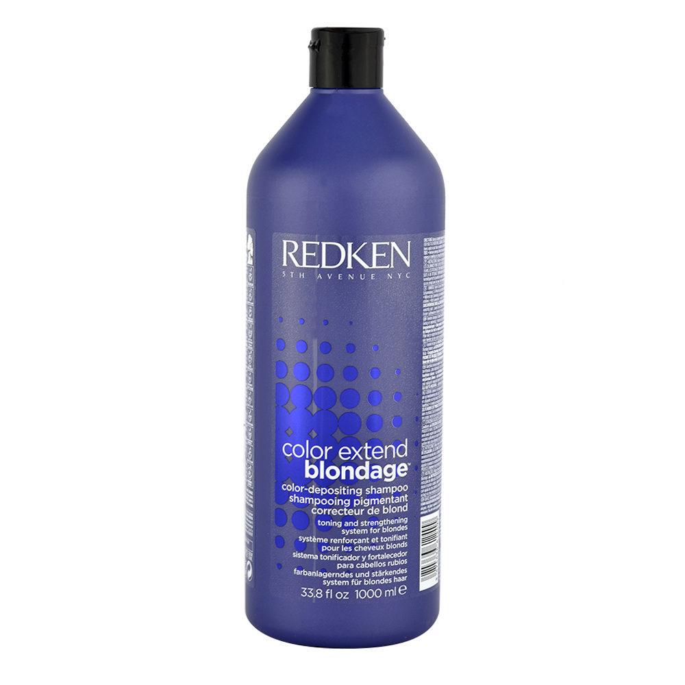 Redken Color extend Blondage Shampoo 1000ml - shampoo blondes haar