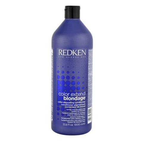 Redken Color extend Blondage Conditioner 1000ml - Balsam blonde Haare